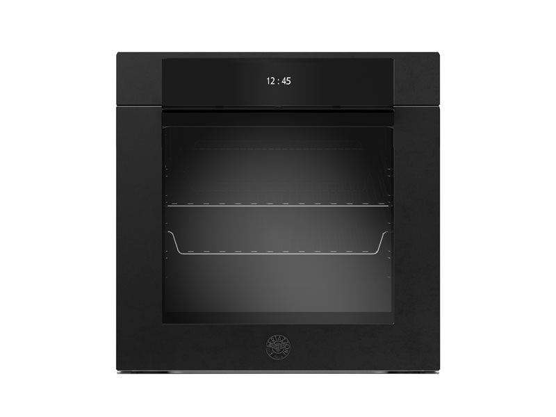 60 cm Electric Pyro Built-in Oven, TFT display, total steam | Bertazzoni - Carbonio