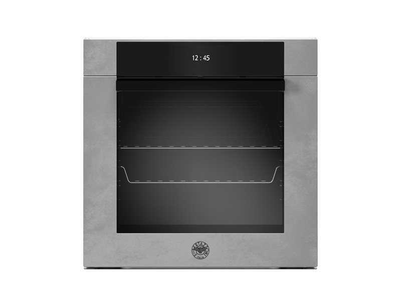 60 cm Electric Pyro Built-in Oven, TFT display, total steam | Bertazzoni - Zinc