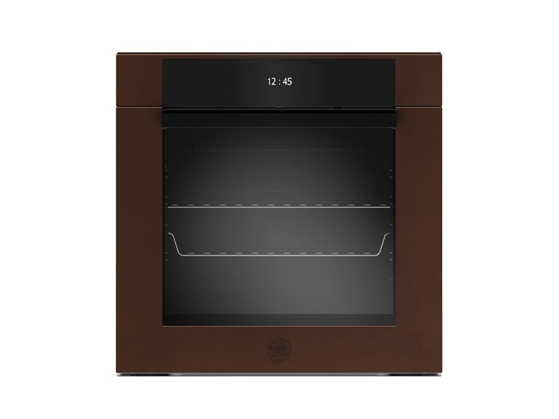 60 cm Electric Pyro Built-in Oven, TFT display, total steam | Bertazzoni - Copper