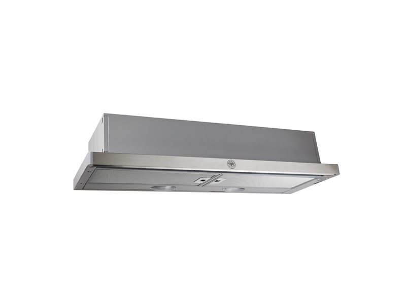 90 cm telescopic hood | Bertazzoni - Stainless Steel